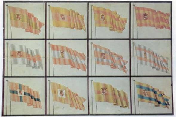 bandera españa naval