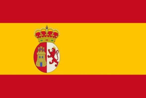 colores bandera española