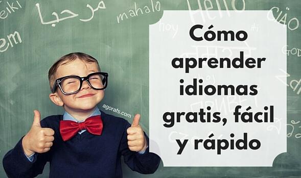 C mo aprender idiomas gratis r pido y f cil - Como estudiar ingles en casa ...