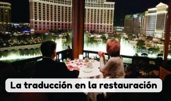traducciones en turismo y restauración