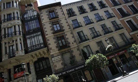 La casa de Calderón de la Barca en Madrid