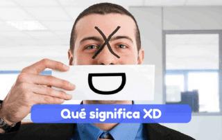qué significa XD