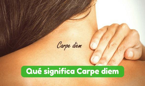 Qué Significa Carpe Diem Significado Traducción Y Definición