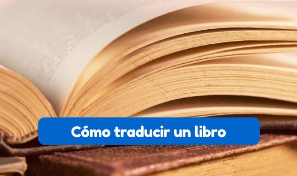cómo traducir un libro
